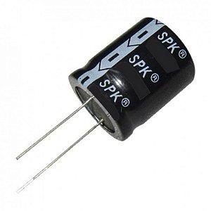 Kit com 50 Capacitores eletrolitico 10x350v para corneta