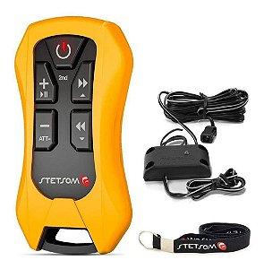 Controle Sx4 Stetsom Amarelo 8 Funções 200 Metros