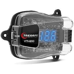 Voltímetro Digital Taramps VTR-1200 Proteção Display Azul