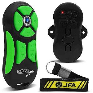 Controle Longa Distância JFA K600 Preto com Verde