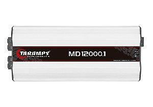 Modulo Amplificador Taramps Md 12000.1 0,5 Ohm 12000w