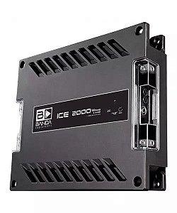 Módulo Amplificador Banda Ice 2000W Rms 2 Ohms