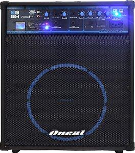 Caixa Amplificada 10 Oneal OCM 390 N USB Bluetooth FM 80W Rms