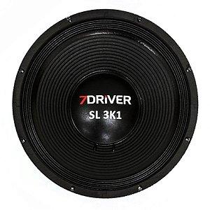 Alto Falante 7 Driver 15 Polegadas SL 3K1 4 Ohms