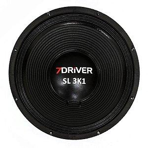 Alto Falante 7 Driver 15 Polegadas SL 3K1 8 Ohms