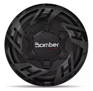 SubWoofer Bomber Carbon 12 Polegadas 250W Rms 4 Ohms