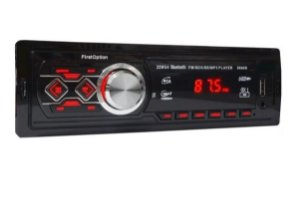 Som Automotivo P/ Carro First Option Mp3 Bluetooth Controle