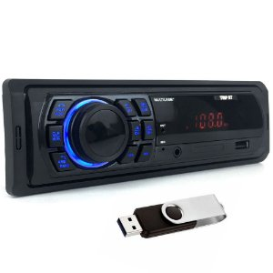 Auto Radio Automotivo Bluetooth Mp3 Player Usb Multilaser