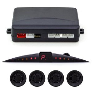 Sensor Estacionamento Positron Display Sonoro Ps220 Preto