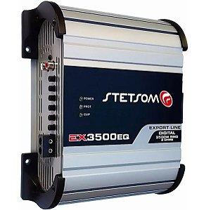 Módulo Amplificador Stetsom Ex-3500 Eq 1 Canal 2 Ohms