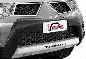 Capa de Para-choque Triton HPE 2013 a 2015 Dfender OV031 PCI