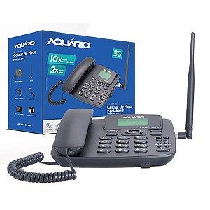 TELEFONE CELULAR DE MESA AQUARIO 3G CA-40