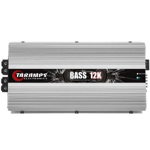Módulo Taramps Bass 12k 1 Ohm 12000w Rms Amplificador Automotivo