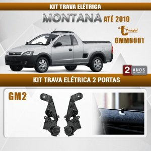 Kit Trava Elétrica GM Chevrolet Montana até 2010 Tragial
