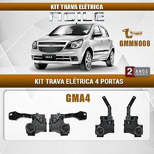 Kit Trava Elétrica GM Chevrolet Ágile 2009-2014 Tragial