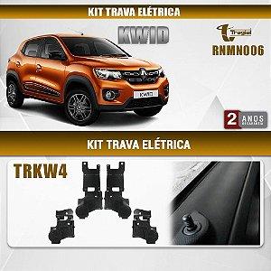 Kit Trava Elétrica Renault Kwid 4 Portas Tragial