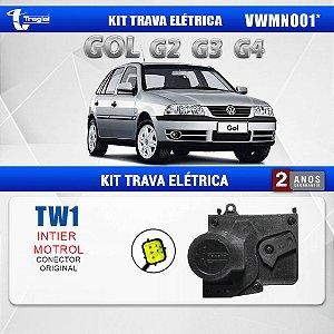 Kit Trava Elétrica Volkswagen Gol G2 (Conector Original) 4 Portas Tragial