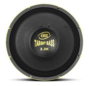 Alto Falante Woofer Eros Target Bass 3.3k 1650w 15'' 4 Ohms