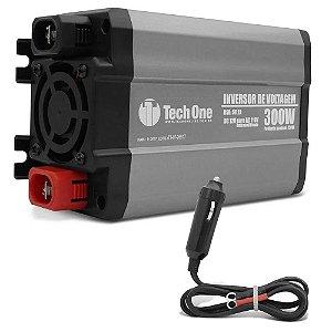 INVERSOR CONVERSOR TECHONE 300W 12v - 220v USB