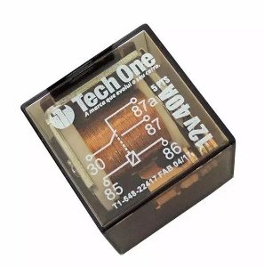 RELE COM 5 TERMINAIS 12V 40A TECHONE