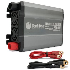 INVERSOR CONVERSOR TECHONE 2000W 12v - 220v USB