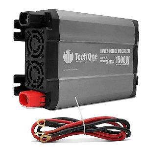 INVERSOR CONVERSOR TECHONE 1500W 12v - 220v USB
