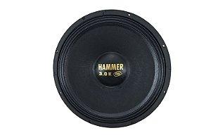 Alto Falante Woofer Eros 12 Polegadas Hammer 3.0k 1500W Rms 8 ohms