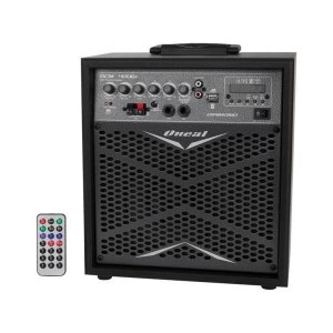 CAIXA DE SOM BLUETOOTH MULTIUSO AMPLIFICADA ONEAL OCM 4006 DIAMOND