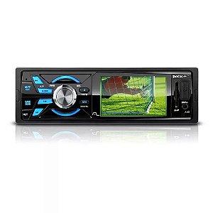 Som Automotivo Multilaser Rock Tela 3 Polegadas TV/FM/USB/SD P3227