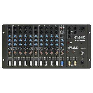 Mesa de som Analógica MXS 12 SA 12 Canais - Ciclotron - Wattsom