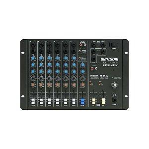 Misturador Mesa de som Analógica MXS 8 SA 8 Canais - Ciclotron/Wattsom