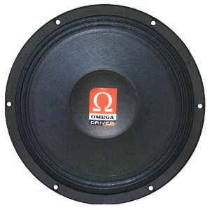 """Alto falante Woofer Omega Driver Md300 10"""" 300 Watts Rms - 8 Ohms"""