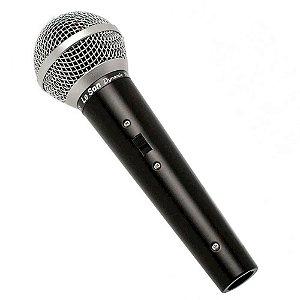 Microfone Le Son Ls - 50 Unidirecional Cardioide Preto