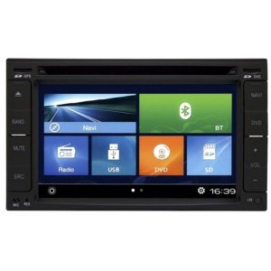 TELA DVD PLAYER MULTIMIDIA UNIVERSAL TV/GPS/USB/SD/BT AIKON 6150DTV