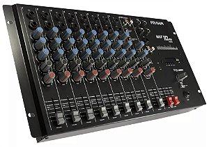 Mesa Mesa De Som Mixer 10 Canais Mxf 10 Usb Frahm