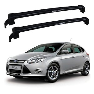 Rack De Teto New Wave Ford Focus 2014 Até 2019 Preto - Eqmax