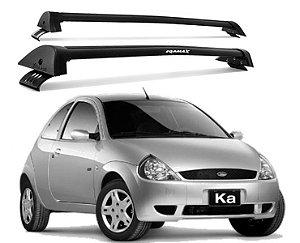 Rack De Teto New Wave Ford Ka 1997 Até 2007 Preto - Eqmax