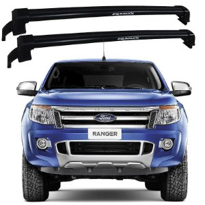 Rack De Teto New Wave Ford Ranger 2015 2016 Preto - Eqmax