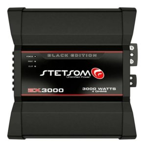 Módulo Amplificador Stetsom Ex3000EQ Black Edition 3000W Rms 1C 4Ohms