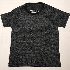 Camiseta mini PF onda preta