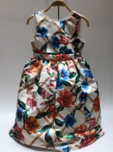 Vestido Social Floral