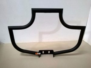 "Protetor de motor xl1200 1"" 1/4 preto moustache customer"