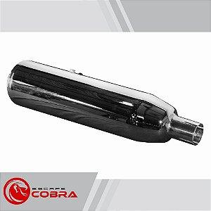 Ponteira dyna switchback 2012 a 2017 slashcut cromado cobra