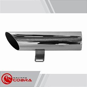 Ponteira mirage 250 2009 até 2013 chanfrada cromado cobra