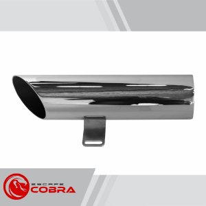 Ponteira mirage 650 2009 até 2013 chanfrada cromado cobra