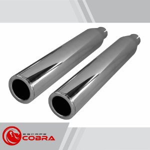 Ponteira sportster 1200 CB 2014/2020 slashcut cromado cobra