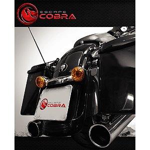 Ponteira touring road glide ultra 07/16 slashcut croma cobra