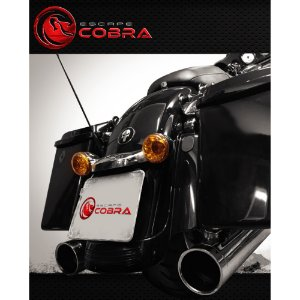 Ponteira touring ultra limited 2007/16 slashcut croma cobra