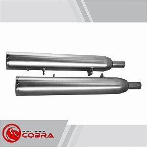 Ponteira v-rod muscle long 2009/16 slashcut acetinada cobra