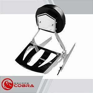 Sissy bar custom marauder 800 1997 até 2005 cromado cobra